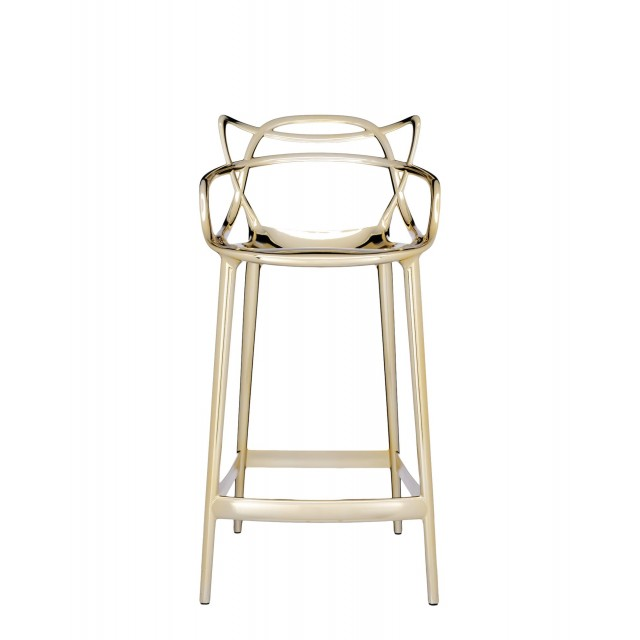 MASTERS STOOL METALLISED