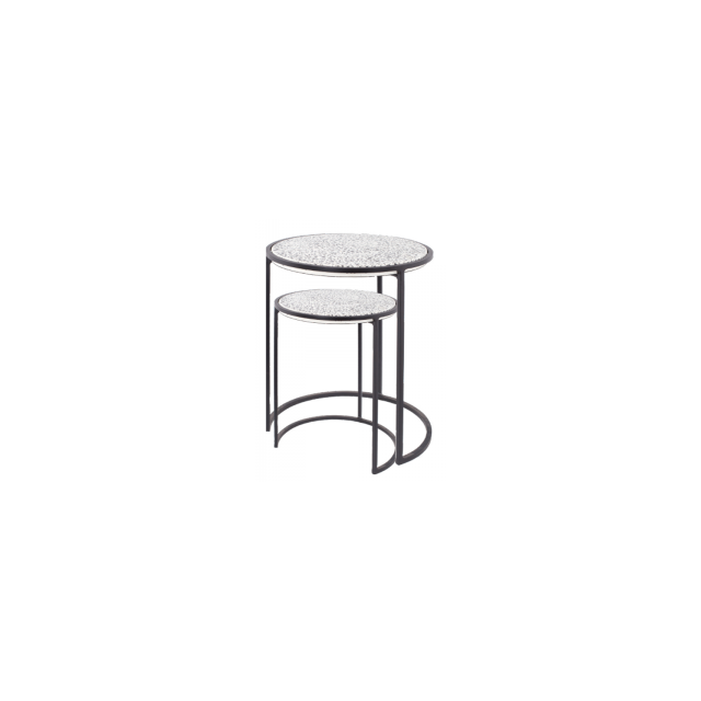 TABIA ROUND COFFEE TABLE