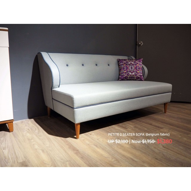 Petite 2 Seater Sofa