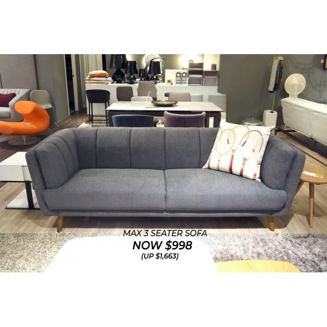 Max 3 Seater Sofa