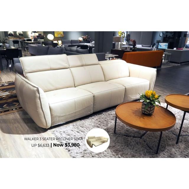 Walker Recliner Sofa