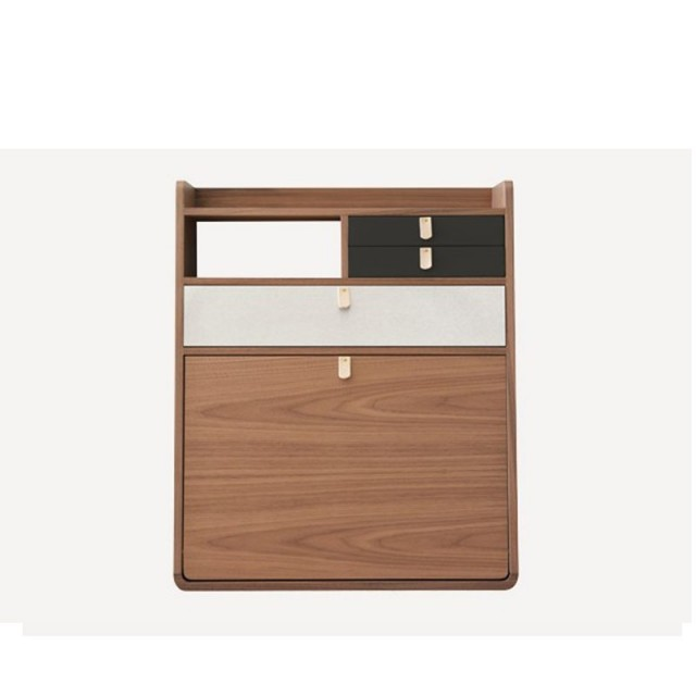WALL SECRETARY GASTON WALNUT 60 CM
