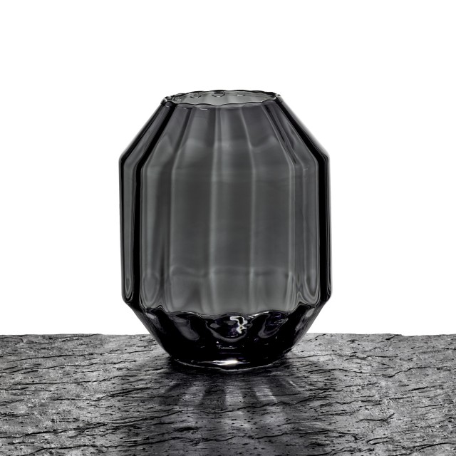 BLACK VASE OPTIC AF430/BLACK