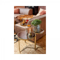 Ross Antique Mirror Coffee Table (M)