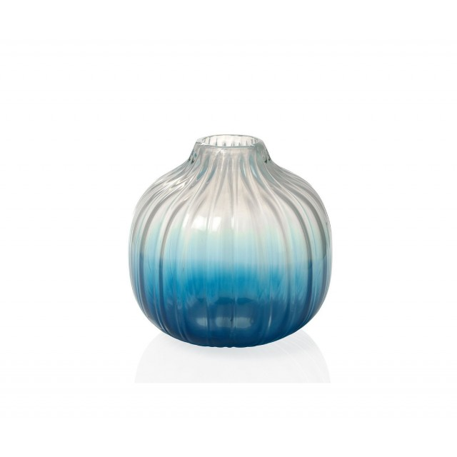 OCEAN GLASS VASE CR18141