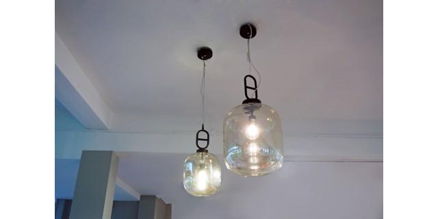 Eyeball Suspension Lamp L