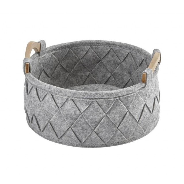 AMY STORAGE BASKET SMALL GREY (S)