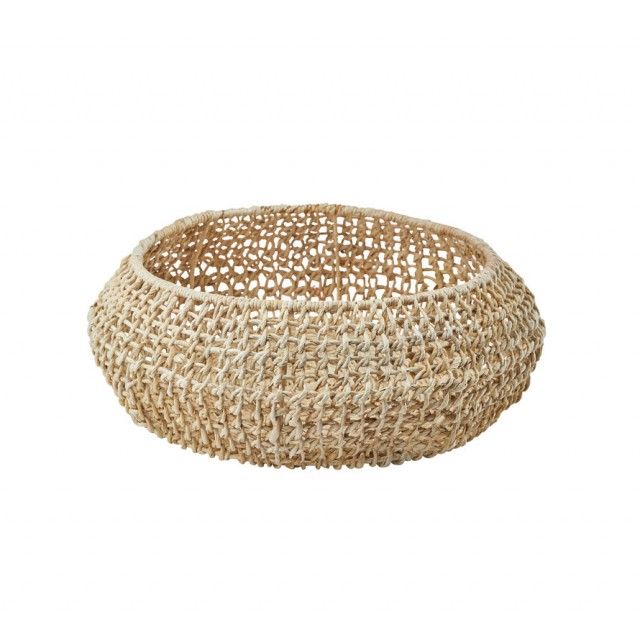 ABACA STORAGE BASKET LARGE