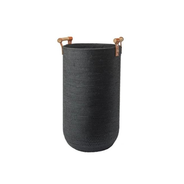 CINO LAUNDRY BASKET BLACK