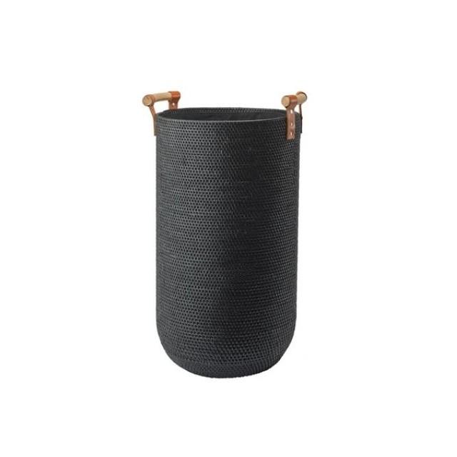 CINO LAUNDRY BASKET BLACK
