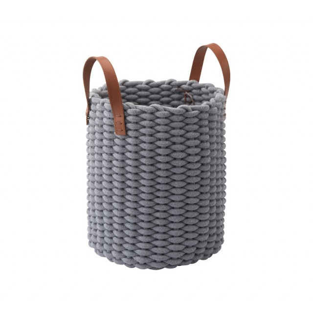RUDON STORAGE BASKET GREY