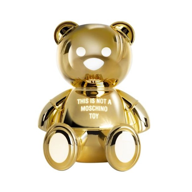 MOSCHINO TOY LAMP GOLD