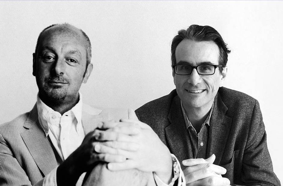 Piero Lissoni with Carlo Tamborini