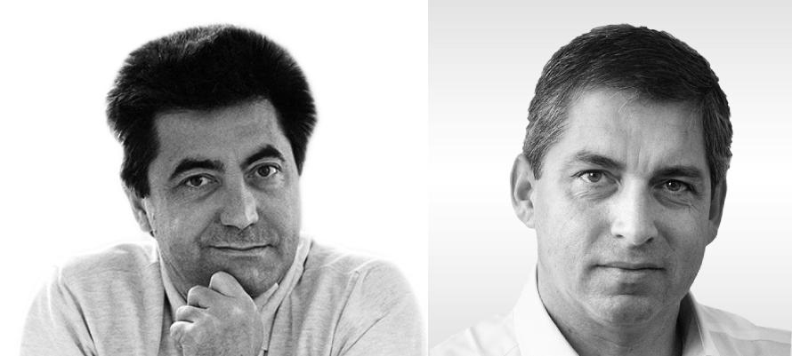 Antonio Citterio con Oliver Löw